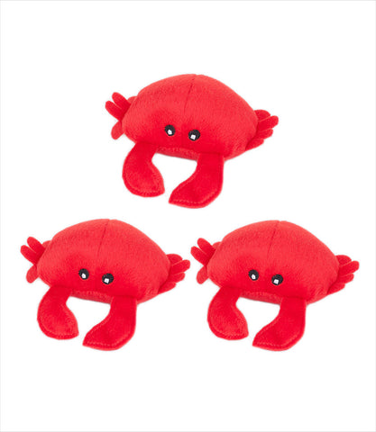 Crab Dog Toy - Zippy Burrow