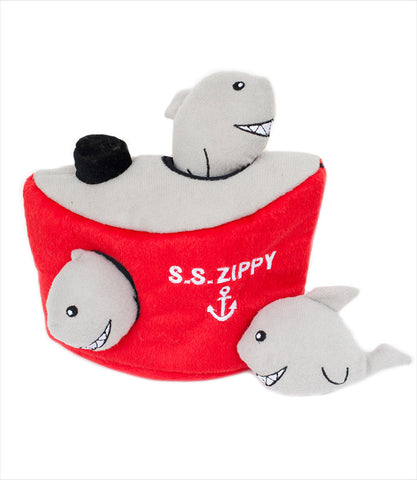 Shark and Ship - Zippy Burrow