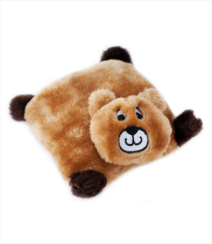 Bear Squeak Pad Dog Toy