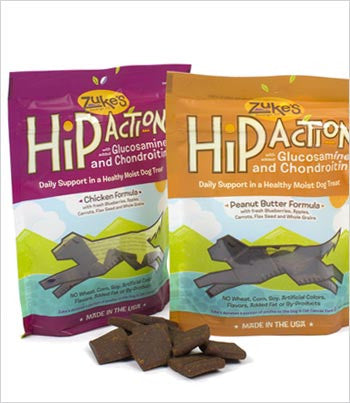Zukes Hip Action Dog Treat