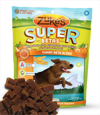 Zukes Super Berry Dog Treats