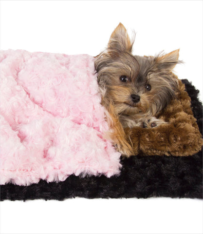 Susan Lanci Dog Carrier Blankets - Misa Minnie