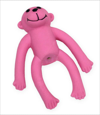 Li'l Pals Latex Monkey Dog Toy