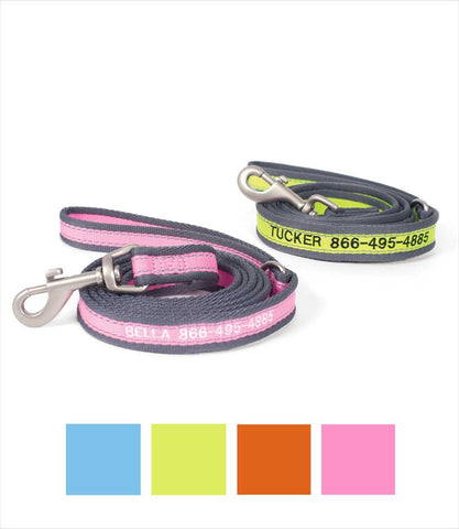 Monogram Dog Leash Set - Pet Attire