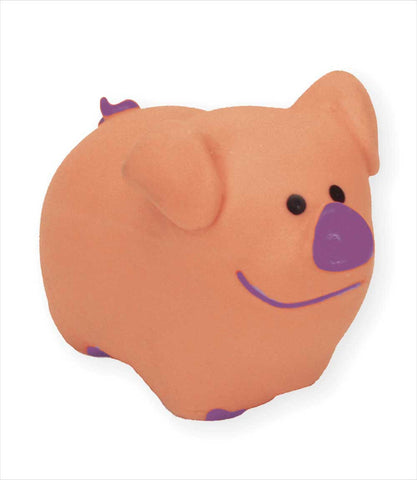 Li'l Pals Latex Pig Dog Toy