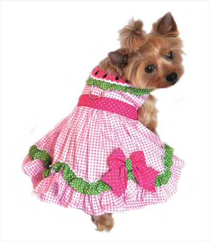 Watermelon Dress for Small Dogs