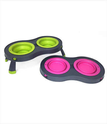 Popware Raised Pet Feeder in 2 Colors