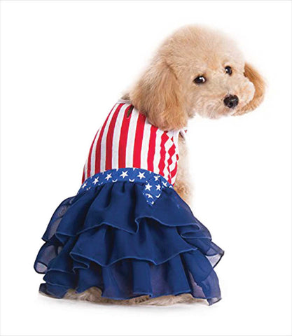 Poodle in American Girl USA Dog Dress