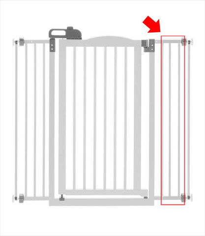 Extension for TALL One-Touch Gate