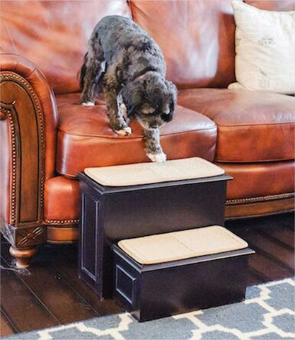3 to 2 Step Conversion Pet Stairs