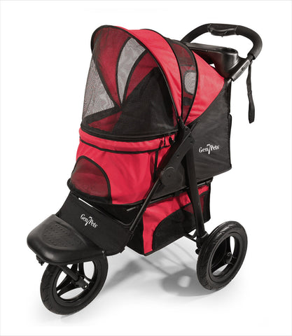 G7 Jogger Pet Stroller in Red