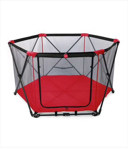 Portable Pet Play Pen - Red