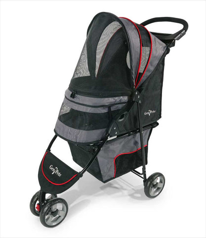 Regal pet stroller - Gray, front