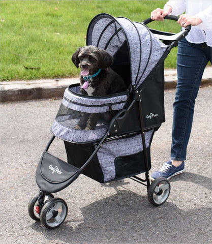 Gen7Pets Starry Night Regal Plus Pet Stroller Close Up