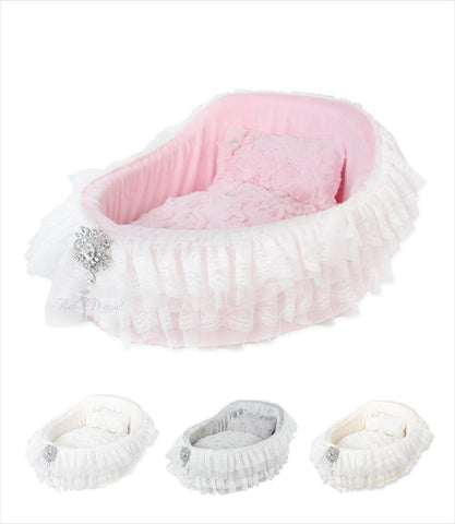 Babydoll Crib Bed for Small Dogs