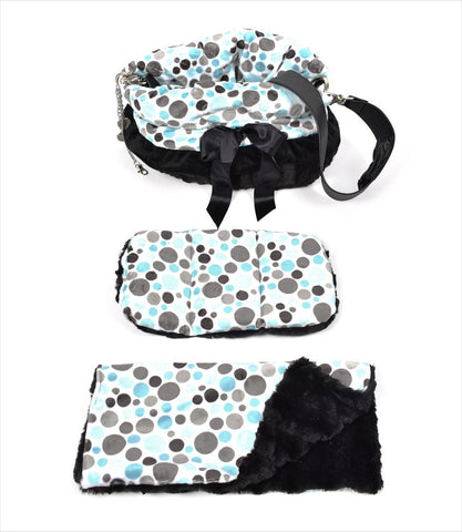 Party Dots Snuggle Bug Dog Carriers