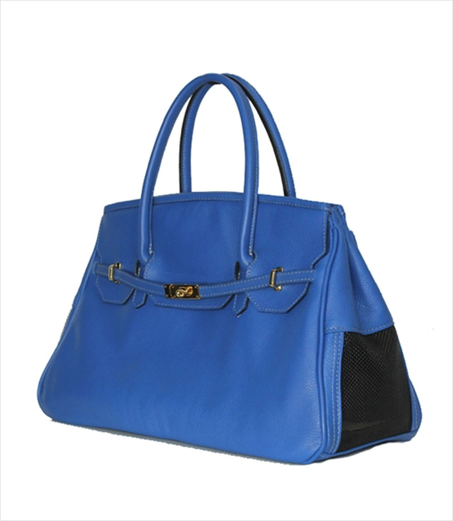 Katie Collection Dog Carrier - Cobalt Blue