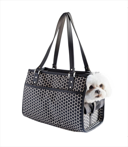 Payton Small Dog Carrier - Reverse Noir Dot