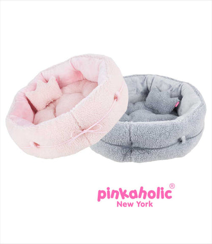 Round Fleece Small Dog Beds