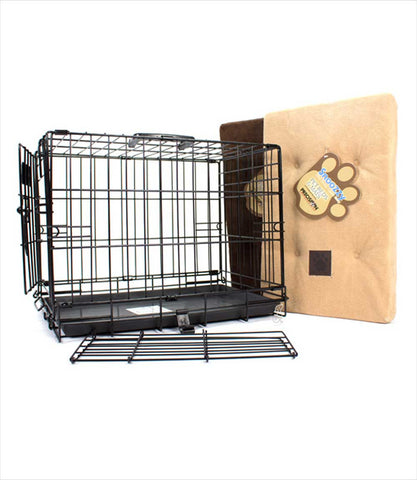closeup dog crate - Precision ProValu - Black
