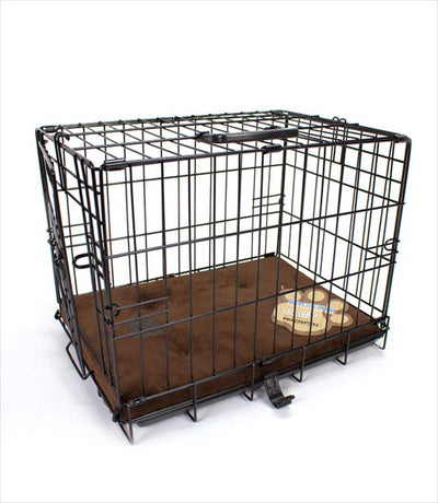 ProValu dog crate with crate pad