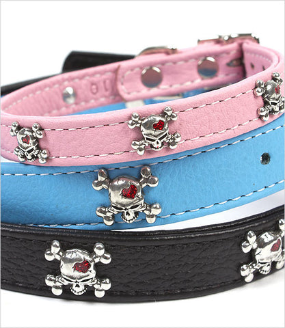 Skull Dog Collar Group