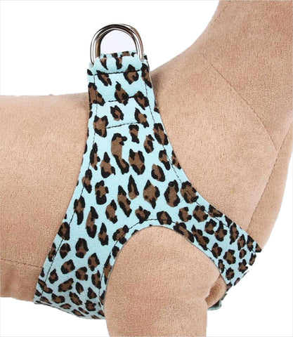 Tiffi Blue Cheetah Step in Dog harness