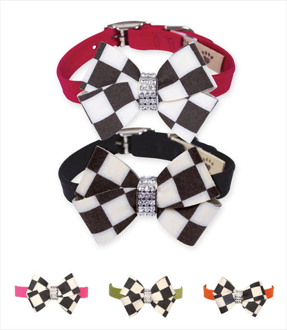 Susan Lanci Windsor Nouveau Bow Dog Collars