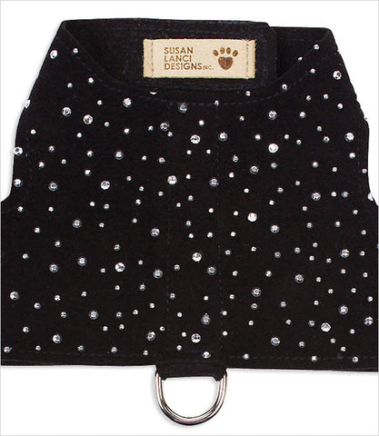 Black Susan Lanci Stardust Bailey Dog Harness