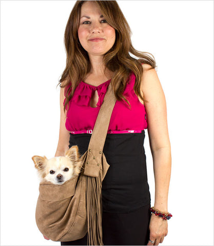 Susan Lanci Fringe Dog Carrier Model