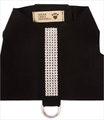 Bailey II dog vest harness in black