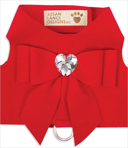Red Big Bow Bailey Dog Harness