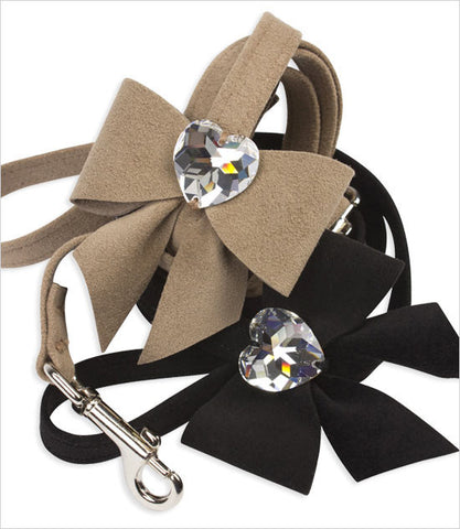 Susan Lanci dog leashes Tail Bow Heart