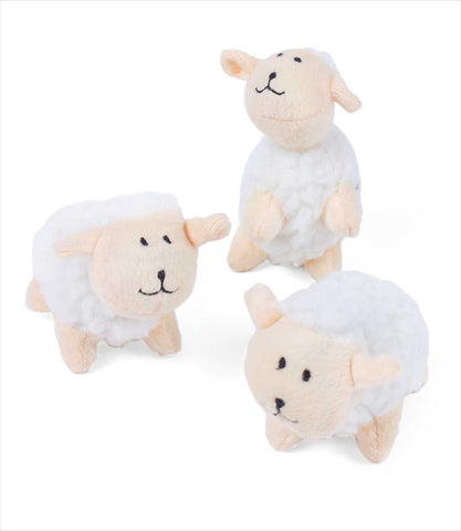 Zippy Paws Miniz Sheep Toys