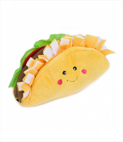 Zippy Paws NomNomz Taco Dog Toy