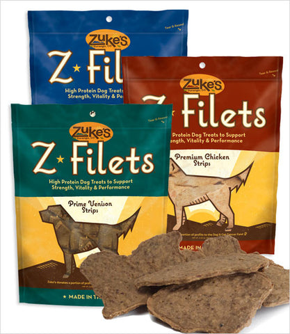 Zukes Z-Filet Dog Treat