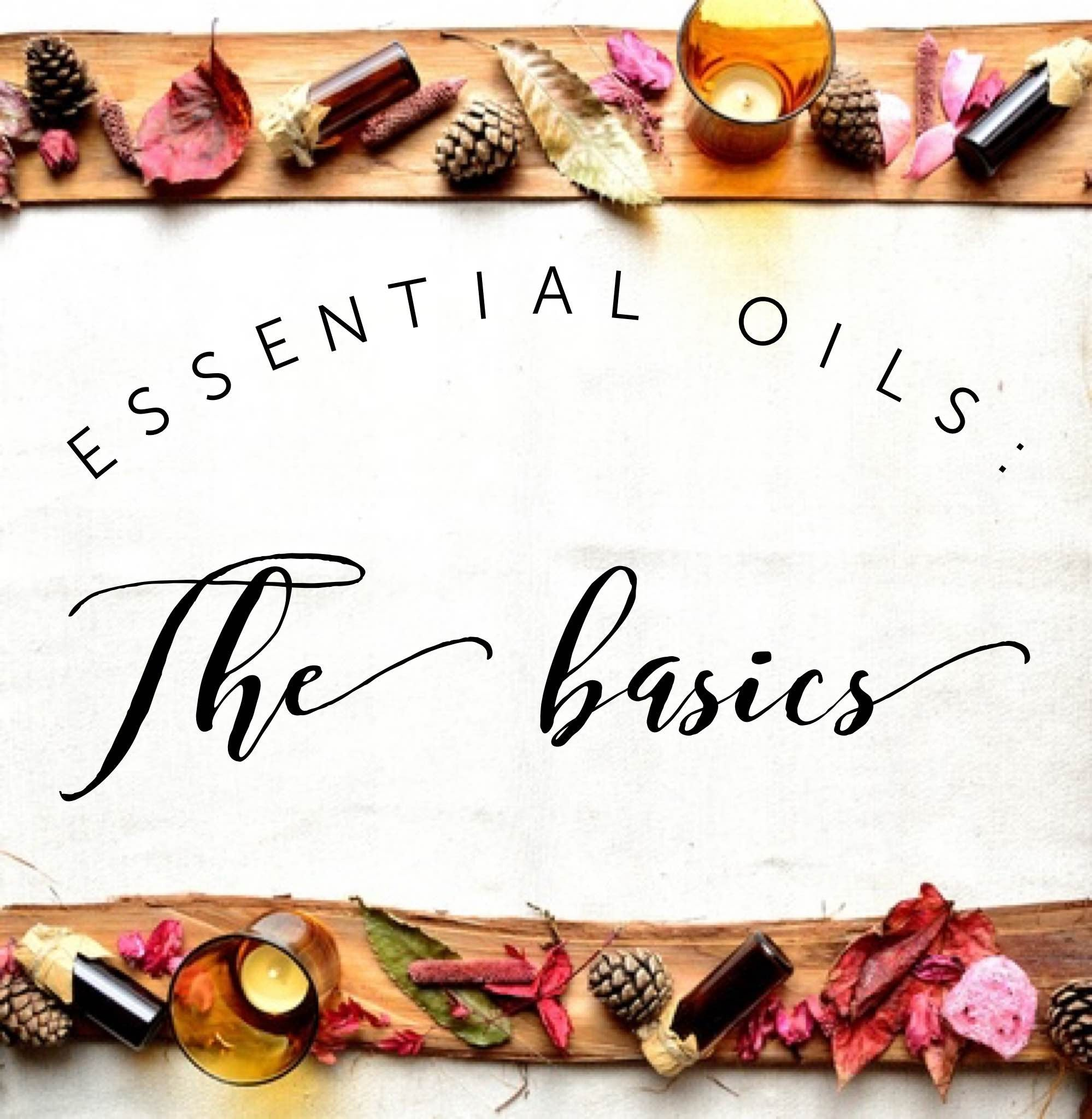 New to Essential Oils? Start here with our TOP 3 must haves....!