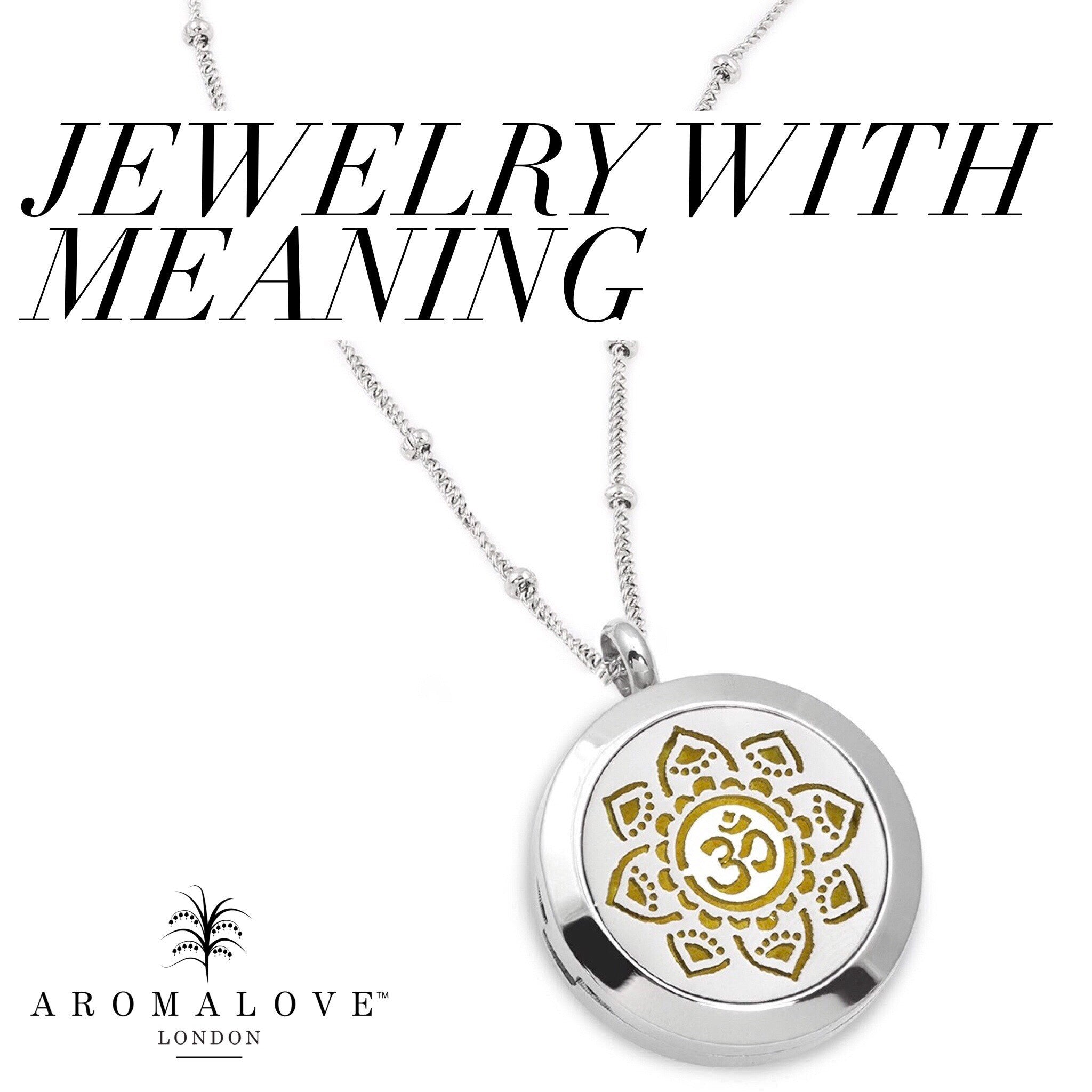 Jewellery with meaning aromalove london jewellery with meaning izmirmasajfo