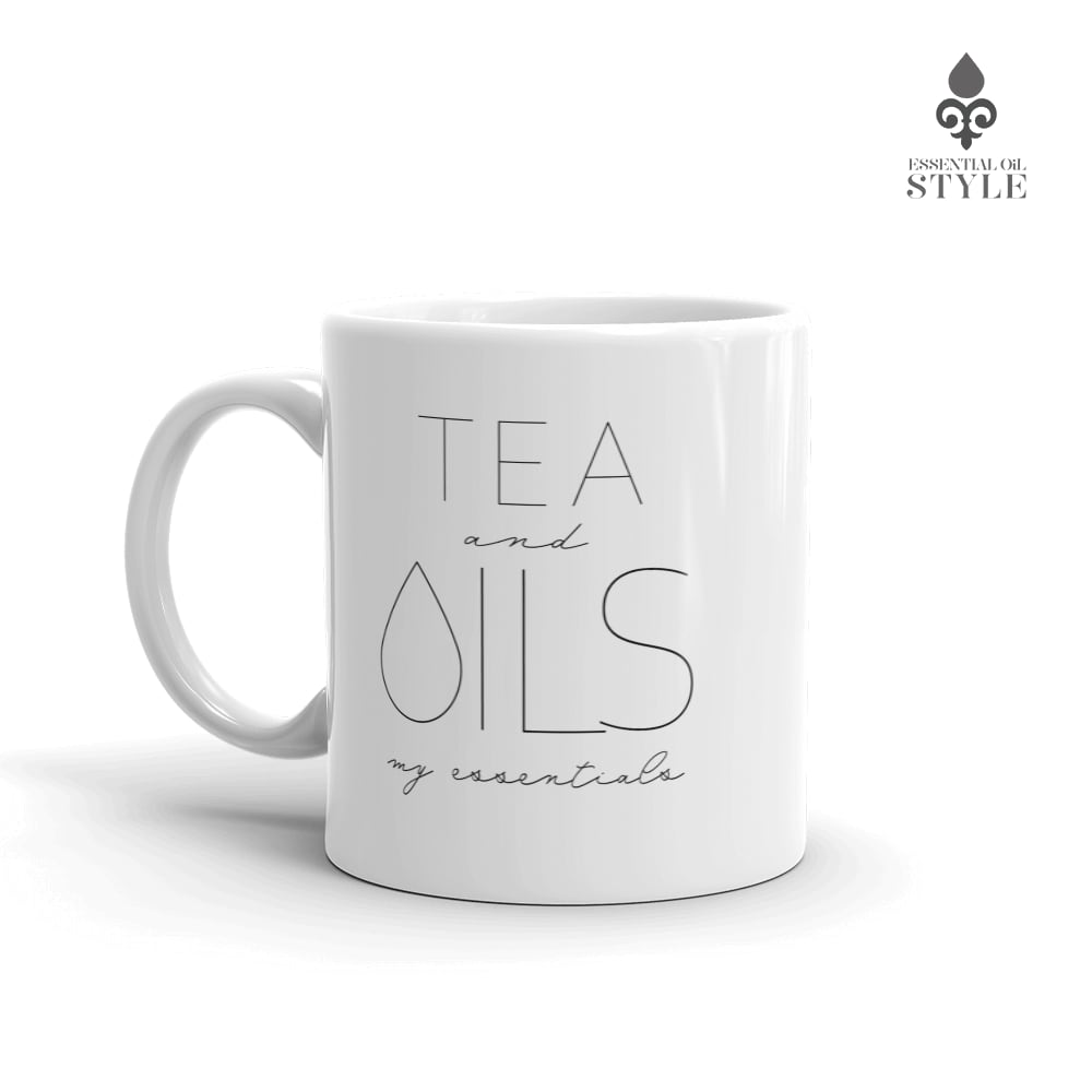 "Mug - ""TEA and my Essentials"" by Essential Oil Style"