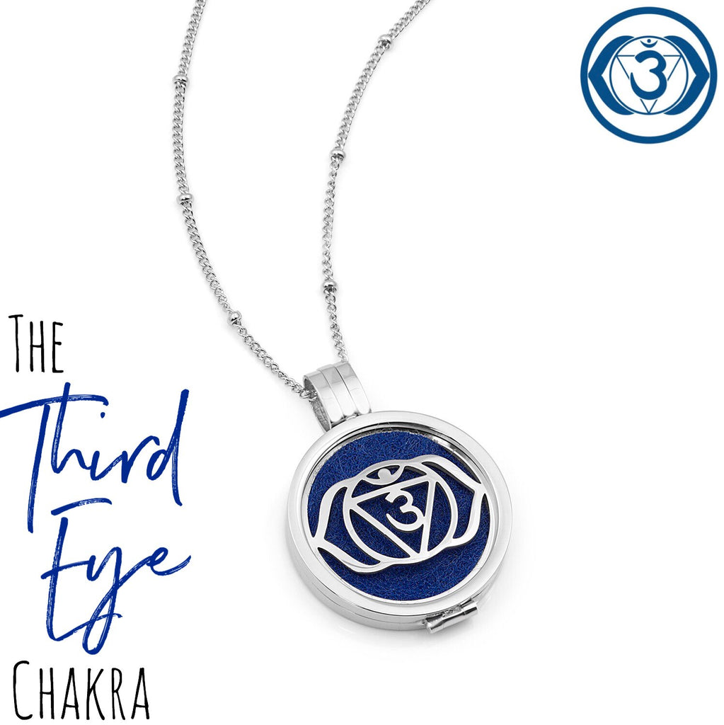 Third Eye Chakra Diffuser Necklace