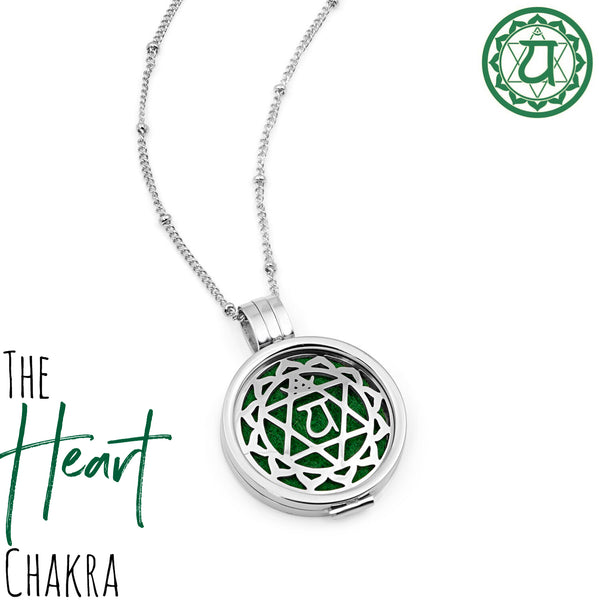 The Heart Chakra Diffuser Necklace