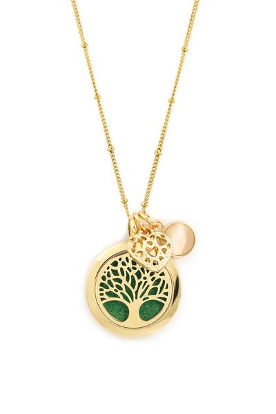(003) Gold Tree Of Life Aromatherapy / Essential Oils