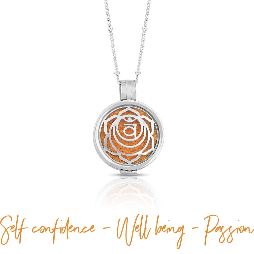 The Sacral Chakra Diffuser Necklace