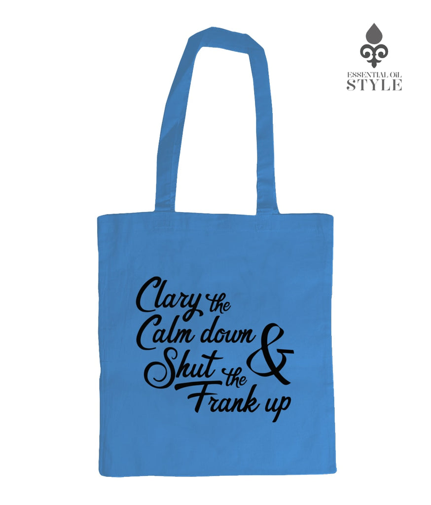 Shoulder Tote Bag - Clary the calm down by Essential Oil Style