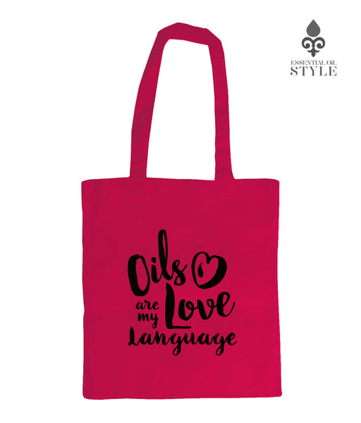 Shoulder Tote Bag - Love Language by Essential Oil Style