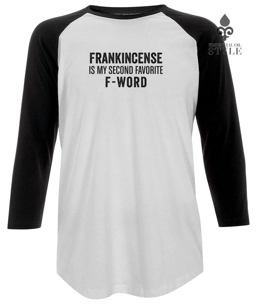 Unisex Baseball T-shirt - F-Word by Essential Oil Style