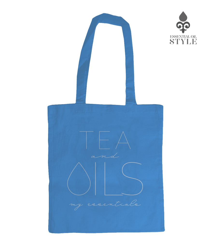 "Tote Bag - ""TEA and my essentials"" by Essential Oil Style"