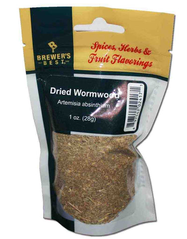 Brewer's Best Dried Wormwood Artemisia absinthium  1 oz Bag