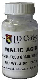 Malic Acid 2 oz Bottle