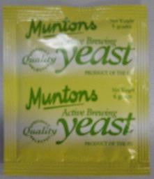 Muntons Yeast Ale, 6 gram Packet